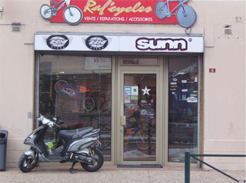 Le magasin RAFCYCLES